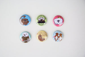 Otter Love Magnet Set
