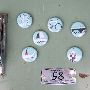 Twin Cities Magnet Set
