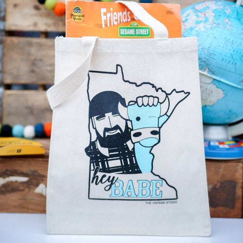 Minnesota Paul Bunyan and Babe Tote - Small