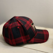 Paul Bunyan and Babe the Blue Ox Red Buffalo Plaid Flexfit Hat