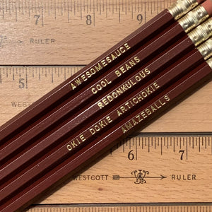 Amazeballs Pencil Set - Rad Sayings