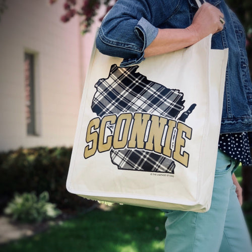 Wisconsin SCONNIE Tote - Large