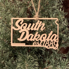 South Dakota Filigree State Ornament