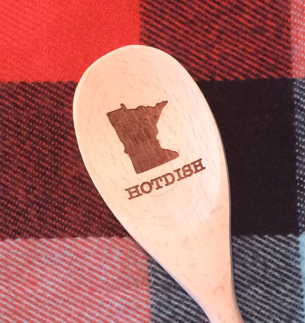 Wood Spoon Minnesota (5 variations)
