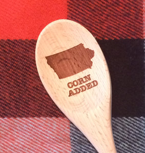 Wood Spoon Iowa (3 variations)
