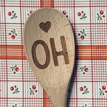 Ohio <heart > OH Wood Spoon