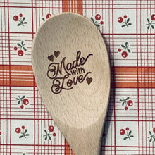 Made with Love Wood Spoon
