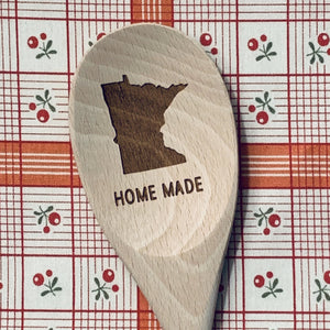 Minnesota Home Made Wood Spoon