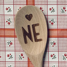 Nebraska <heart> NE Wood Spoon
