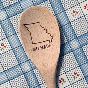 Missouri MO MADE Wood Spoon