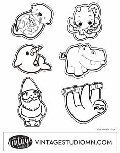 FREE Pocket Pal Coloring Page