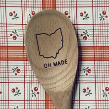 Ohio OH MADE Wood Spoon