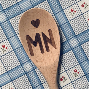 Minnesota <heart> MN Wood Spoon