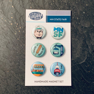 Minnesota State Fair Magnet Set