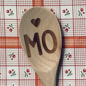 Missouri <heart > MO Wood Spoon