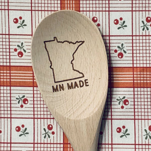 Minnesota MN MADE Wood Spoon