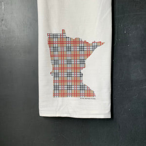 Minnesota Plaid Flour Sack Towel