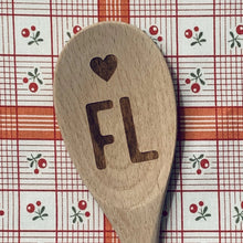 Florida <heart> FL Wood Spoon