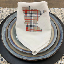 Minnesota Plaid Flour Sack Napkin Set of 4