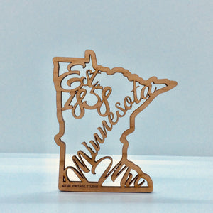 Minnesota Filigree State Ornament
