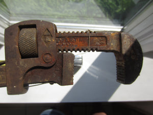 Vintage Stillson Wrench 14""