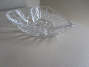 Heart Shape Glass Bowl