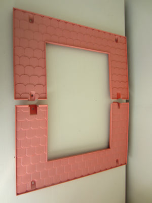 Vintage 1979 Barbie Dream House Roof Replacement Pieces Center Section