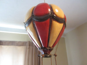 Large Vintage Whimsical Hot air Balloon Hand Made in Phillipines