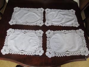 White Placemat Set