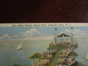 Vintage Post Cards Atlantic City, New Jersey