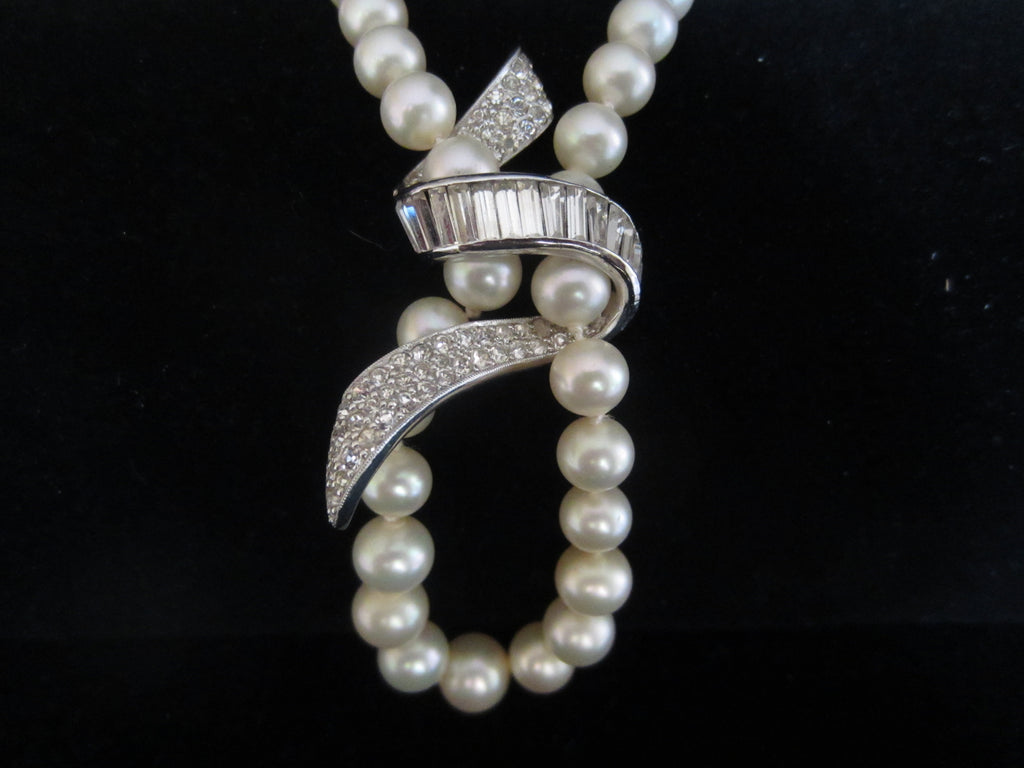 Exquisite Faux Pearl Richelieu Necklace with Crystals
