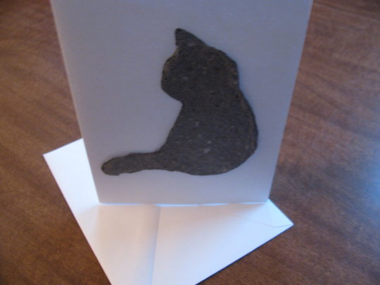 Cat Sympathy Card - Pet Loss Grieving Gift - Pet Cat Memorial