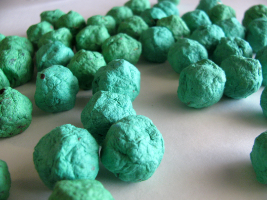 Green Seed Balls