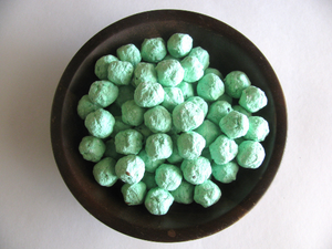 mint green wedding favors