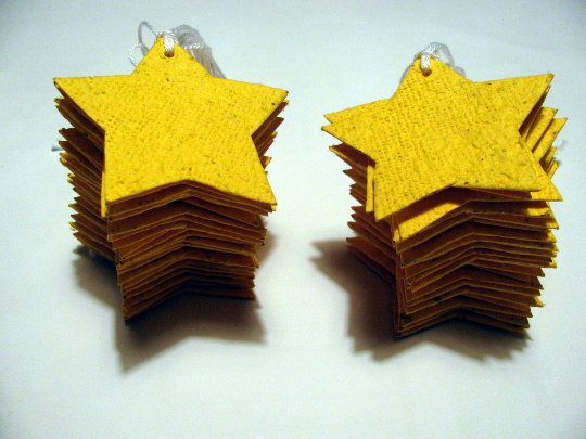 All Star Baby Shower Favors - Etoile Wedding Favors - Gold Star Gift Tags