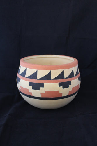 Jo Zielke signed native American bowl