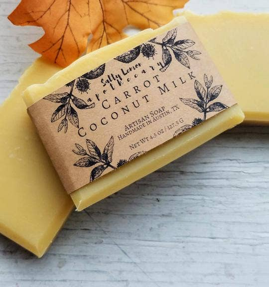 Carrot Coconut Milk Artisan Soap