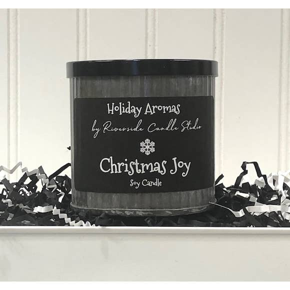 Holiday Aroma's Rustic Candle - Choose Scent