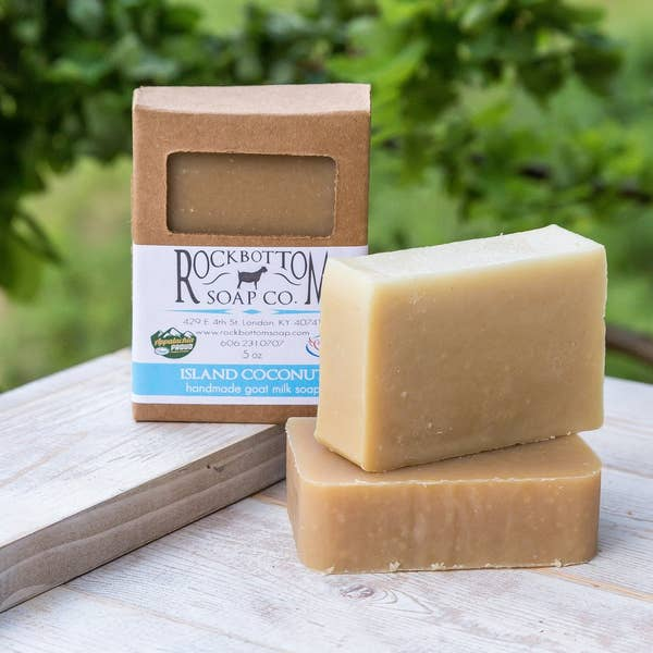 Island Coconut Goat Milk Soap