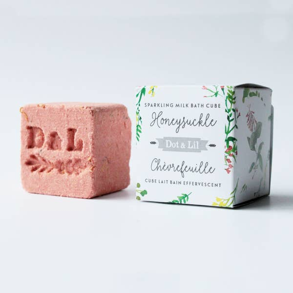 Honeysuckle Sparkling Milk Bath Cube