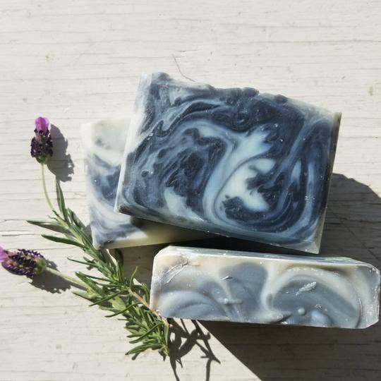 Charcoal Lemongrass Artisan Soap