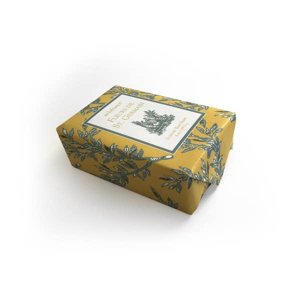 Fleurs de St. Germain Classic Toile Wrapped Soap - Charlie James & Company