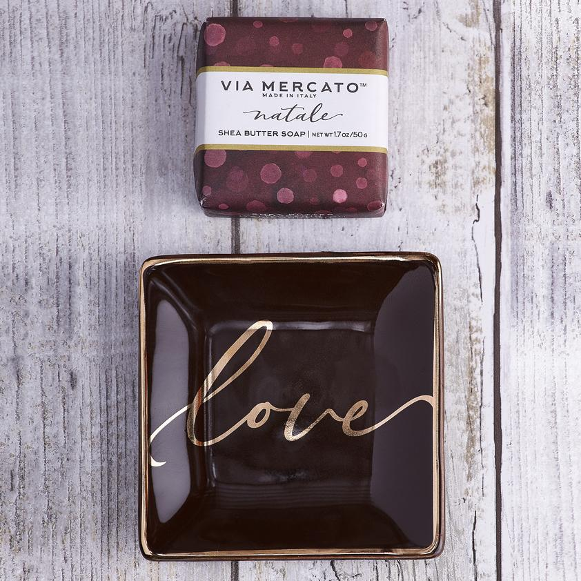 Love Natale Soap & Trinket Set - Charlie James & Company