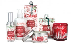 Santa's Eve Foaming Soap & Napkin Set