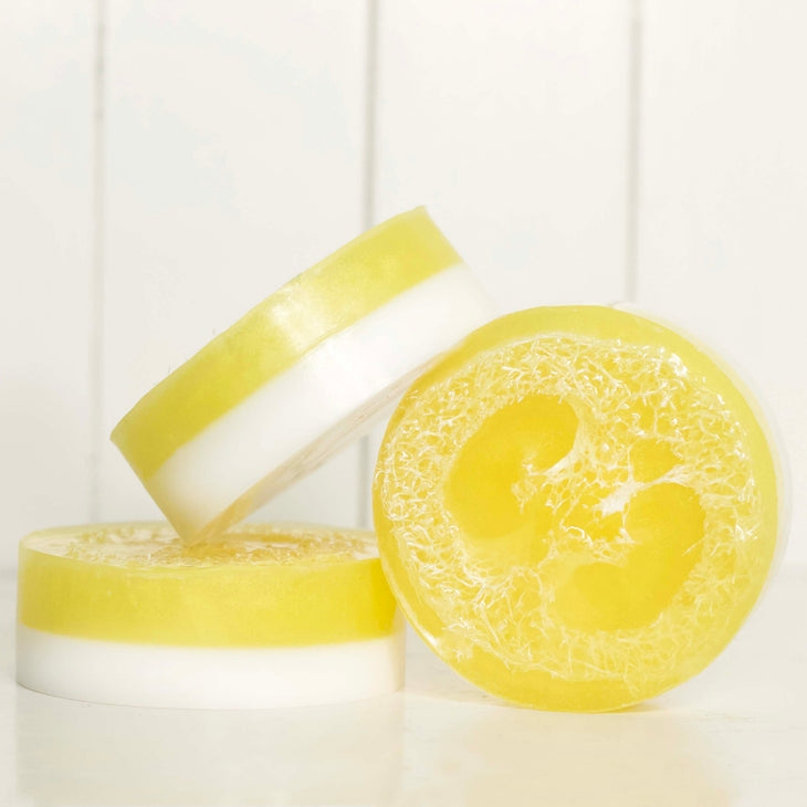 Sweet Sunshine Loofah Soap