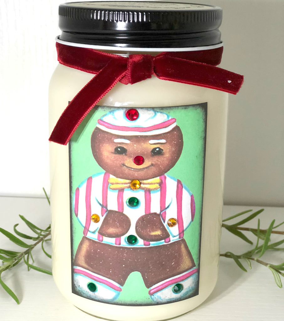 Gingerbread Cookie Vintage Candle - Charlie James & Company