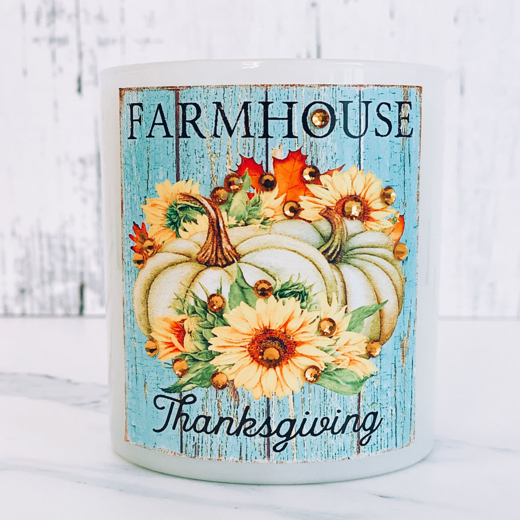 Farmhouse Thanksgiving Candle - Harvest Home