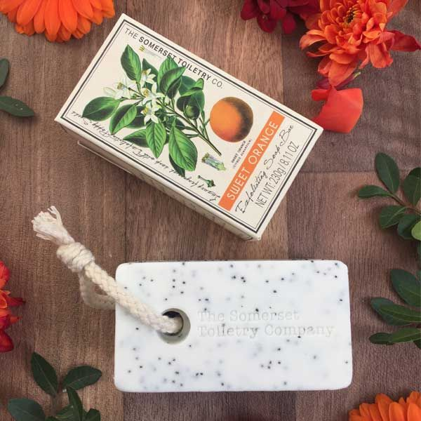 Lemon Verbena Exfoliating Soap on a Rope - Charlie James & Company