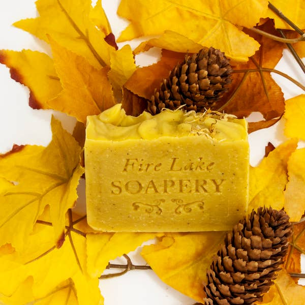 Carrot Seed Facial Soap Bar