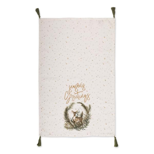 Wonderland Forest Tassle Dishtowels - Choose One